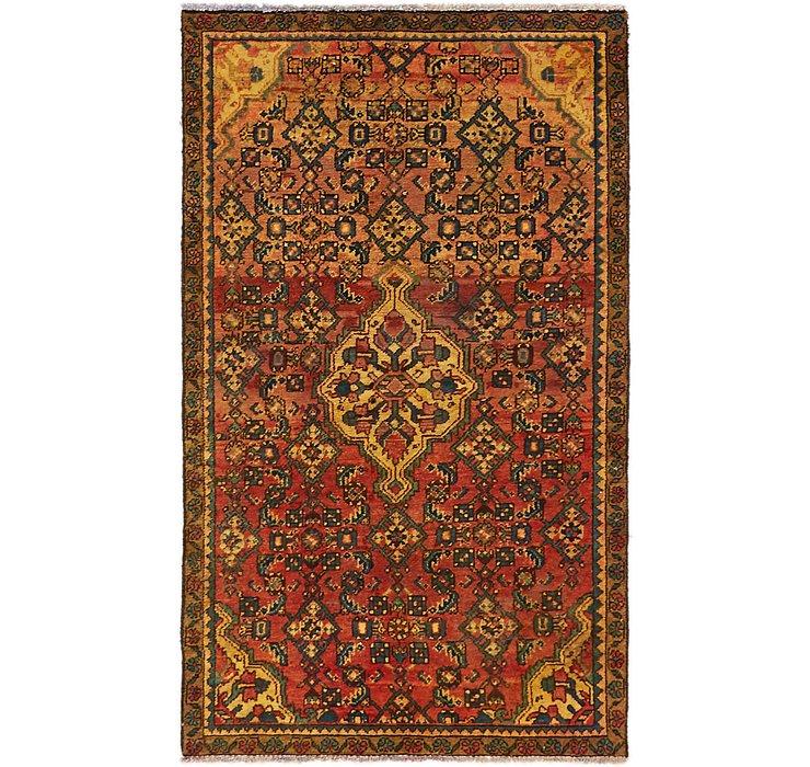 3' 4 x 5' 8 Hossainabad Persian Rug