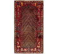 Link to 122cm x 235cm Varamin Persian Runner Rug