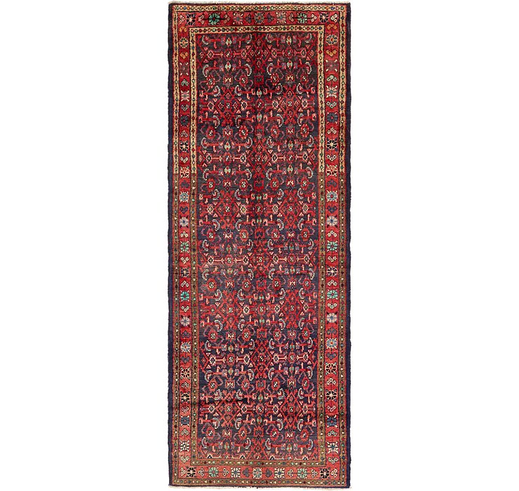 115cm x 312cm Hossainabad Persian Run...