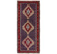 Link to 3' 9 x 8' 10 Varamin Persian Runner Rug