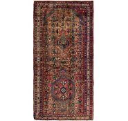 Link to 3' 7 x 7' 2 Hamedan Persian Runner Rug
