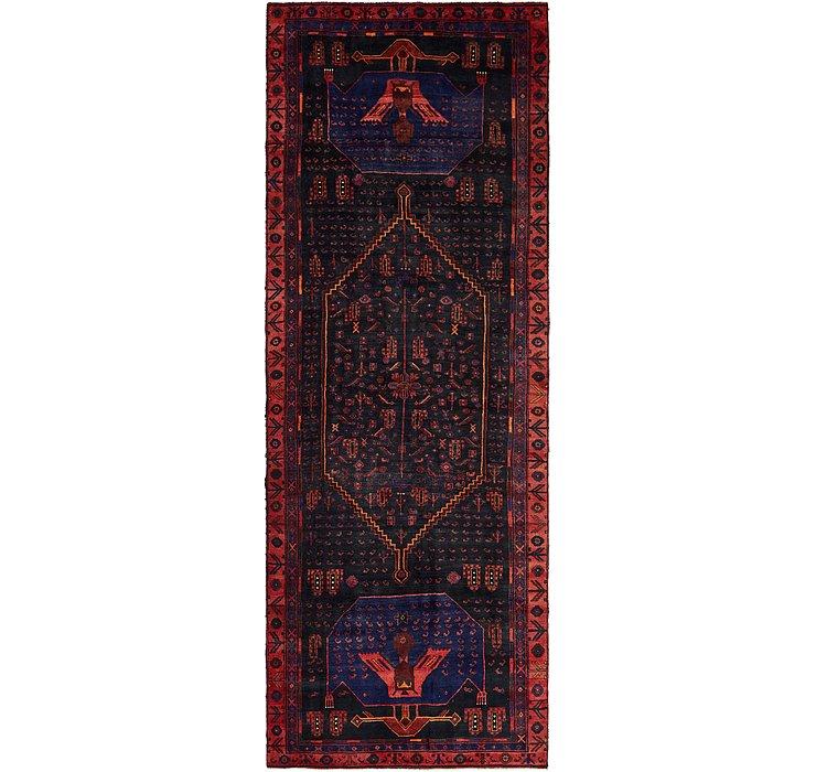 4' 6 x 12' 10 Sirjan Persian Runner Rug