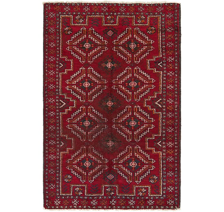 4' x 6' Balouch Persian Rug