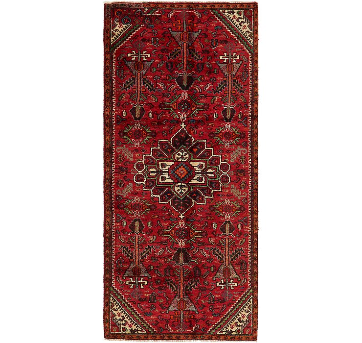 3' 7 x 8' Shiraz Persian Runner Rug