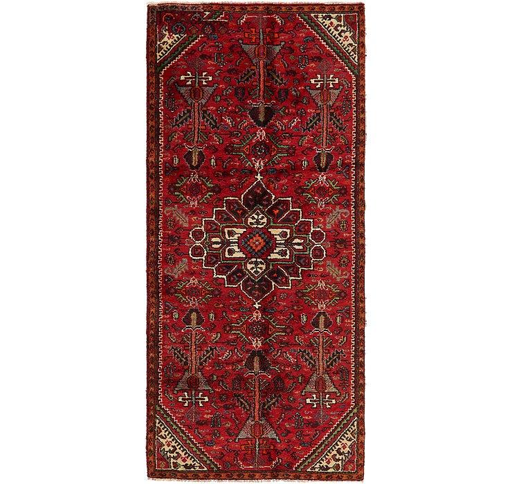3' 7 x 8' Shiraz Persian Runner Rug