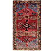 Link to 4' 3 x 7' 8 Hamedan Persian Runner Rug
