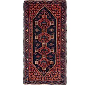 Link to 3' 5 x 9' 5 Shiraz Persian Runner Rug