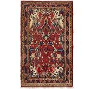 Link to 107cm x 183cm Hamedan Persian Rug