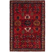 Link to 4' 4 x 6' 4 Hamedan Persian Rug