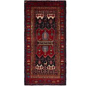 Link to 5' x 10' 6 Sirjan Persian Runner Rug