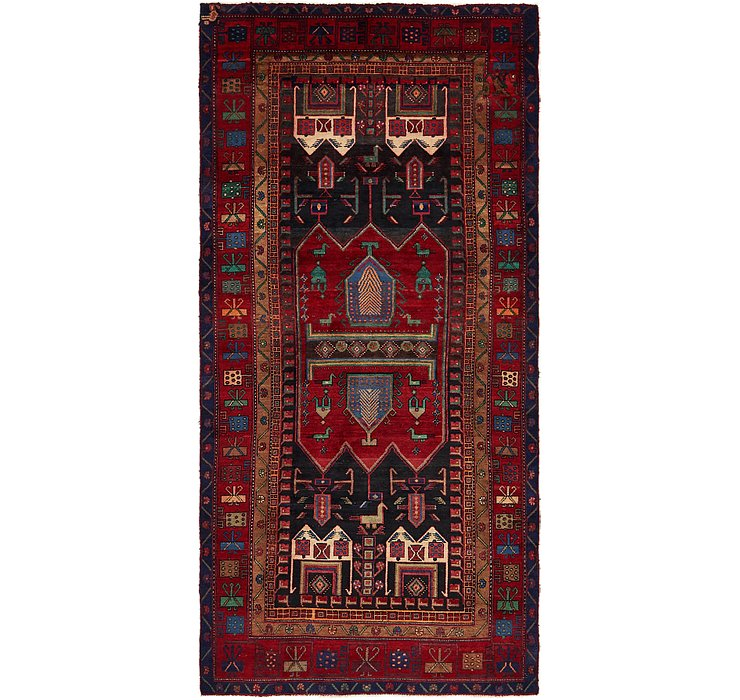 152cm x 320cm Sirjan Persian Runner Rug