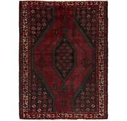 Link to 4' 5 x 6' 3 Mazlaghan Persian Rug