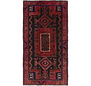 Link to 4' 2 x 8' 4 Hamedan Persian Runner Rug