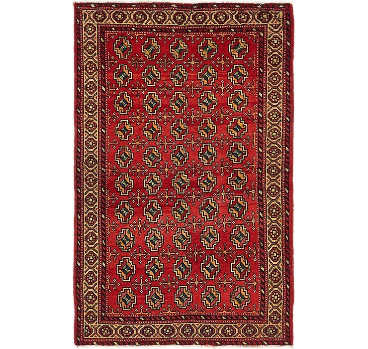 102cm x 190cm Hamedan Persian Rug