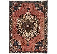 Link to 4' 5 x 6' 2 Hamedan Persian Rug