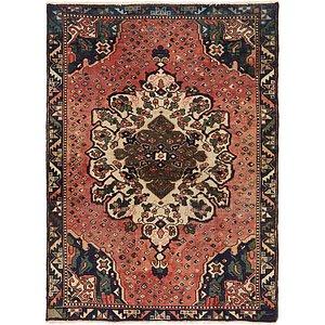 Unique Loom 4' 5 x 6' 2 Hamedan Persian Rug