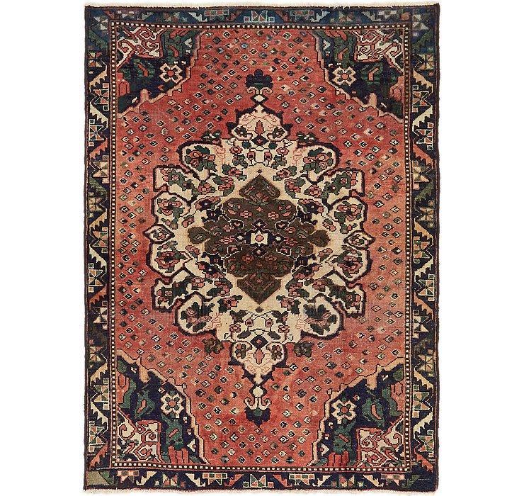 4' 5 x 6' 2 Hamedan Persian Rug