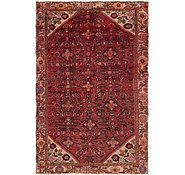 Link to 4' 8 x 7' 10 Hossainabad Persian Rug