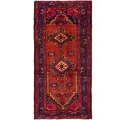 Link to 3' 5 x 7' 5 Hamedan Persian Runner Rug
