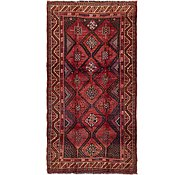 Link to 4' 10 x 9' 2 Shiraz Persian Runner Rug
