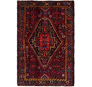 Link to 4' 3 x 6' 6 Hamedan Persian Rug
