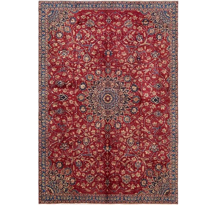 7' 2 x 10' 4 Isfahan Persian Rug