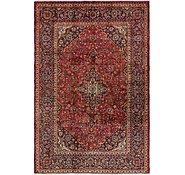 Link to 6' 7 x 9' 10 Mashad Persian Rug