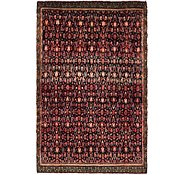 Link to 4' 10 x 7' 5 Hossainabad Persian Rug