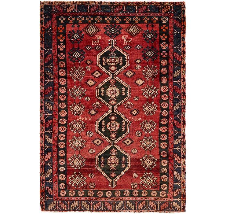 4' 9 x 6' 10 Meshkin Persian Rug