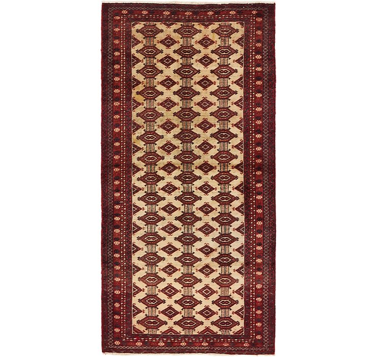2' 7 x 5' 5 Balouch Persian Runner ...