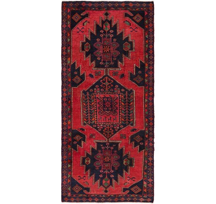 4' x 9' Sirjan Persian Runner Rug
