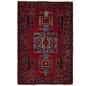 Link to 4' 4 x 6' 5 Meshkin Persian Rug