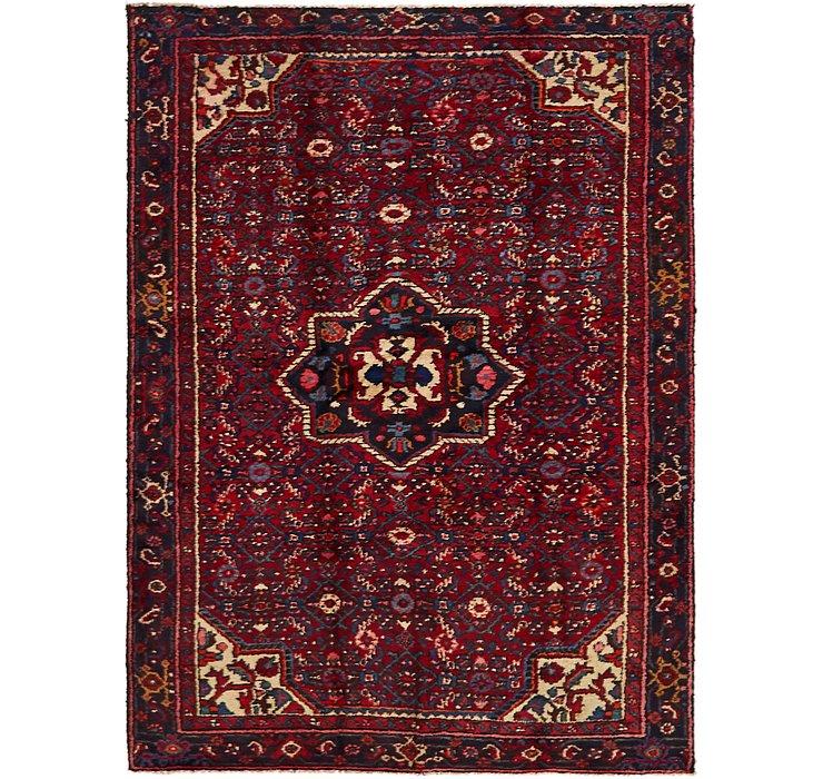 4' 8 x 6' 5 Hossainabad Persian Rug