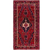 Link to 4' 8 x 8' 8 Hamedan Persian Runner Rug