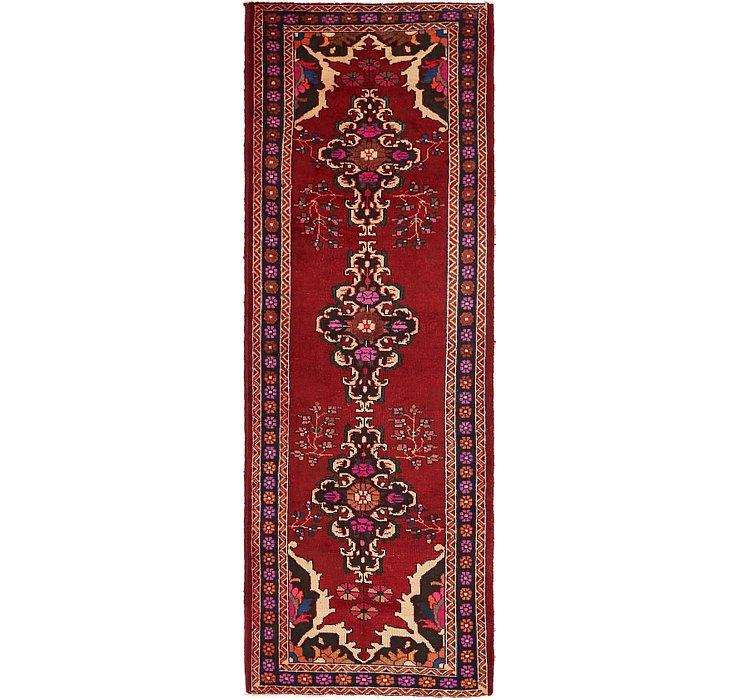 3' 3 x 9' 9 Ferdos Persian Runner Rug