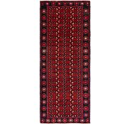 Link to 3' 10 x 9' 6 Torkaman Persian Runner Rug