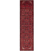 Link to 2' 7 x 10' Hossainabad Persian Runner Rug