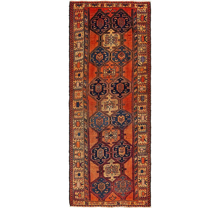 4' 4 x 11' 7 Shiraz Persian Runner Rug