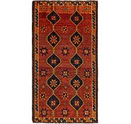 Link to 4' 3 x 8' Shiraz-Lori Persian Rug