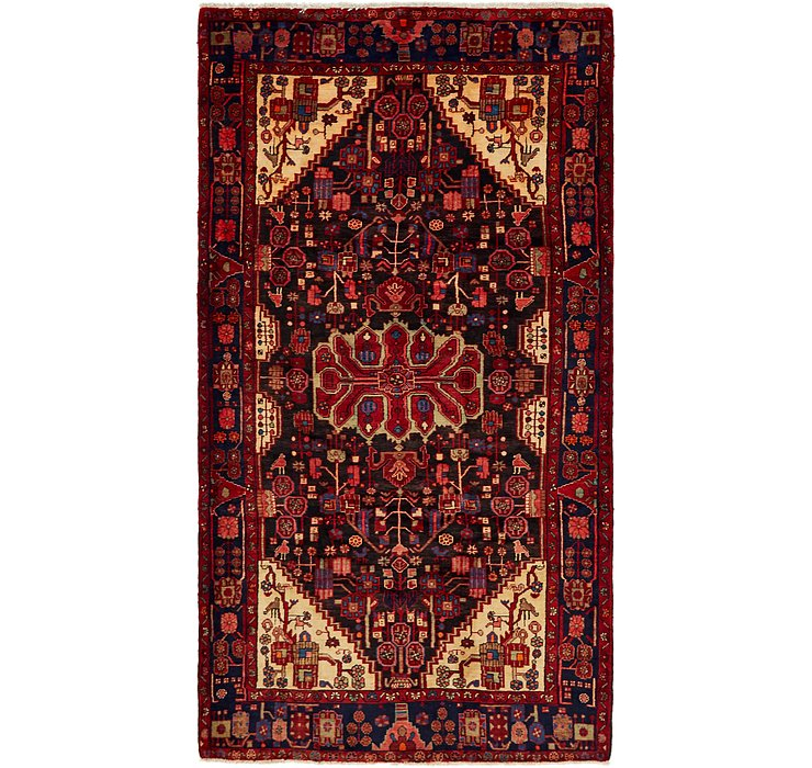 165cm x 305cm Nahavand Persian Rug