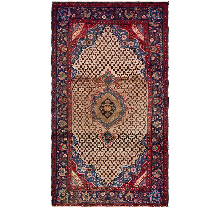 HandKnotted 4' 10 x 8' 8 Songhor Persian Rug