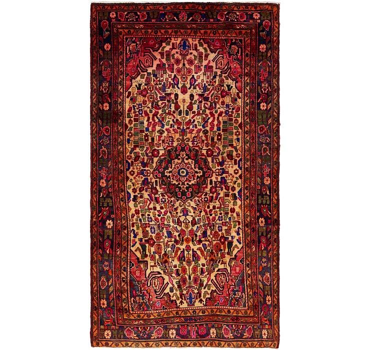 5' 4 x 9' 9 Borchelu Persian Rug