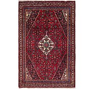 Link to 6' 1 x 9' 3 Hamedan Persian Rug