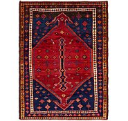Link to 4' 8 x 6' 3 Shiraz Persian Rug