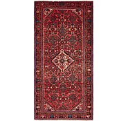 Link to 145cm x 300cm Hossainabad Persian Runner Rug
