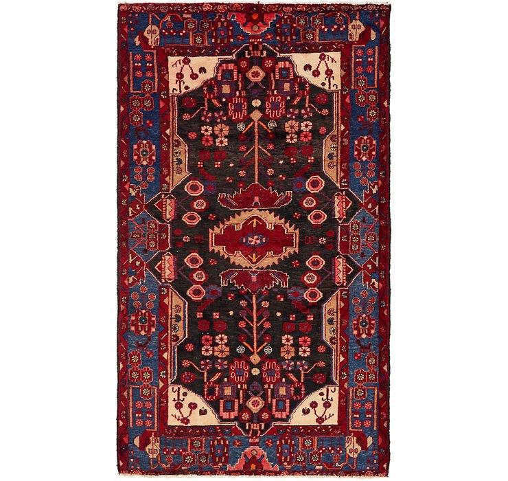 5' x 8' 9 Nahavand Persian Rug