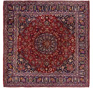 Link to 9' 7 x 9' 10 Mashad Persian Square Rug