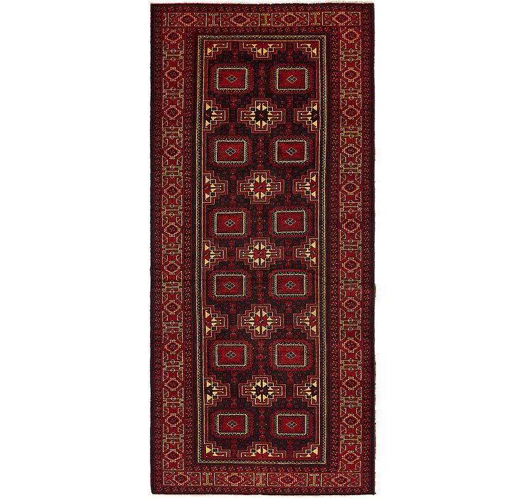 4' 6 x 10' 3 Balouch Persian Runner ...
