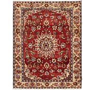 Link to 147cm x 190cm Mahabad Persian Rug