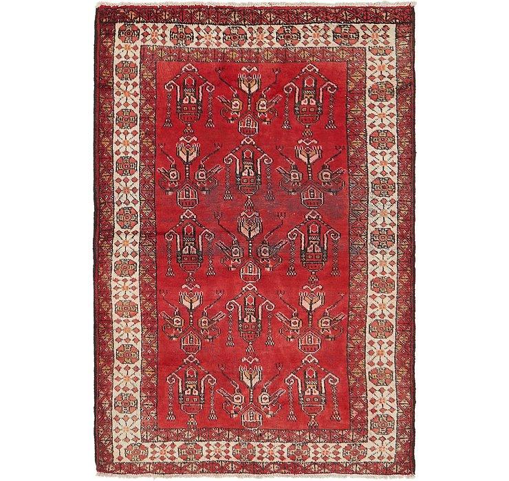 3' 9 x 6' Ferdos Persian Rug